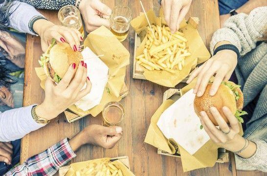 Cinco razones para no comer rápido